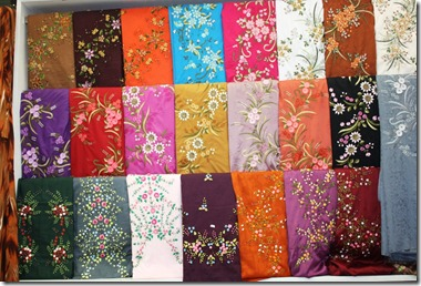 Pakej pakej percutian murah pemborong kain sulam dari Baju gamis pasar baru bandung