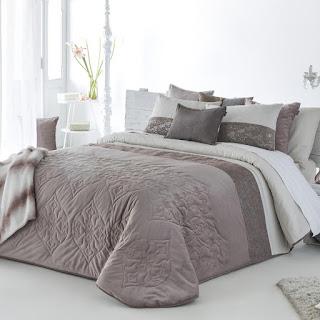 Colcha Bouti modelo Nemi color Malva de Antilo Textil