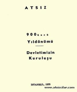 Hüseyin Nihal Atsız - 900. Yıl dönümü Devletimizin Kuruluşu