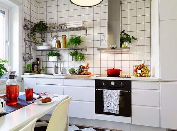 Cara menata dapur mungil