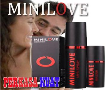 MiniLove Spray~Bikin Pria Perkasa!