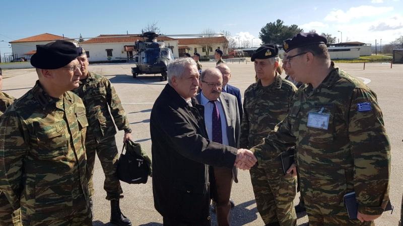 Στην Ορεστιάδα ο Αναπληρωτής Υπουργός Εθνικής Άμυνας Φώτης Κουβέλης
