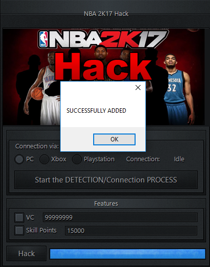 nba 2k17 vc generator no survey no download