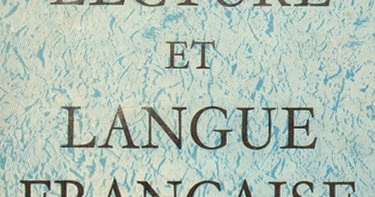 Manuels Anciens Lecture Et Langue Francaise 1ere Annee D