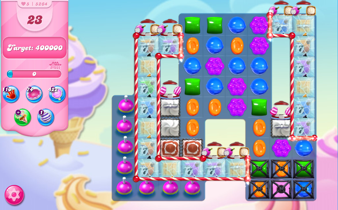 Candy Crush Saga level 5264