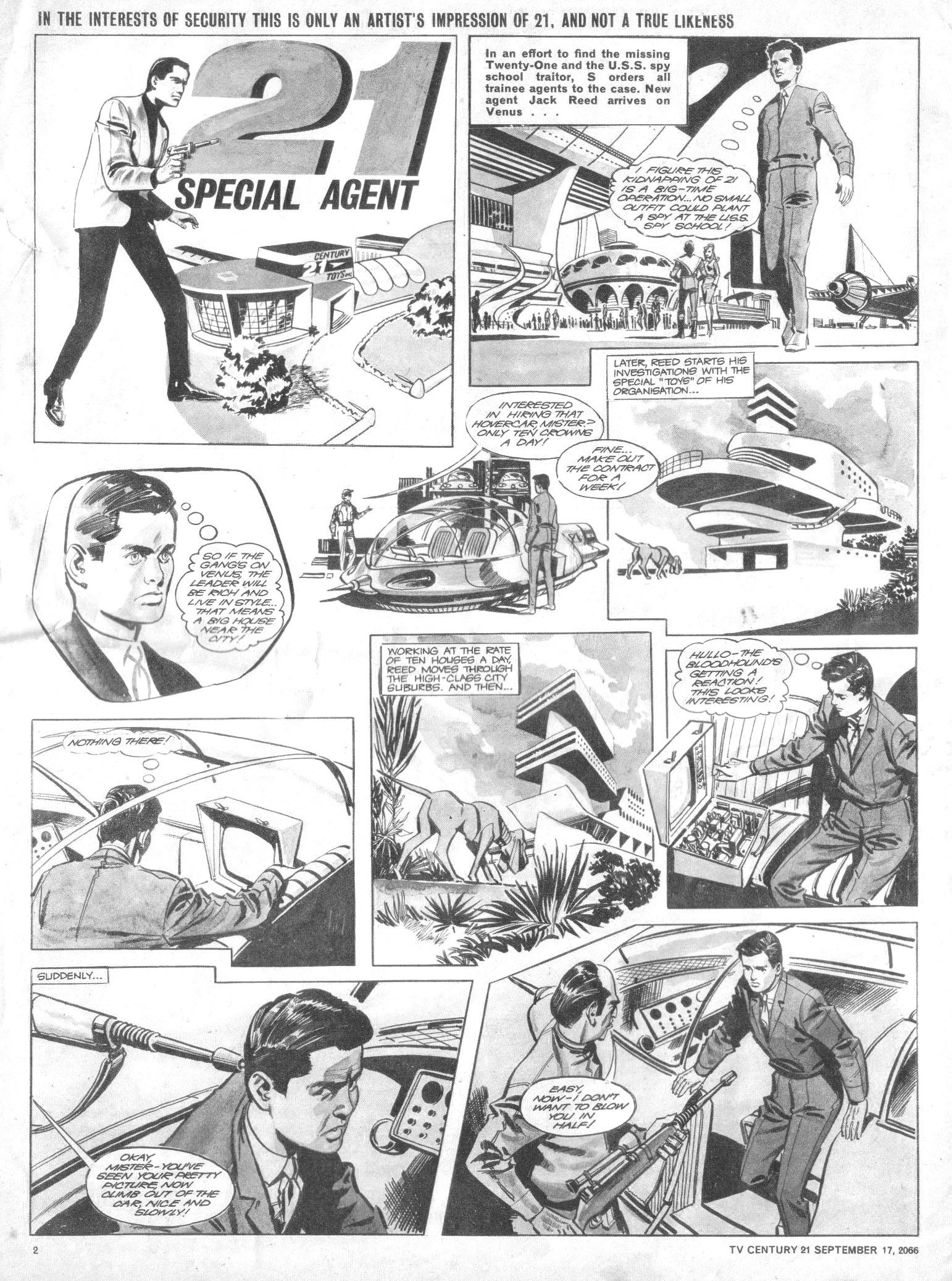 Read online TV Century 21 (TV 21) comic -  Issue #87 - 2
