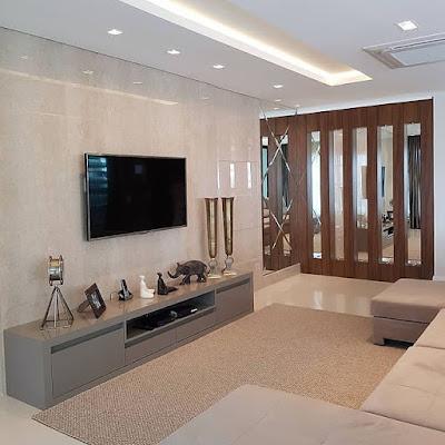 dekorasi ruang keluarga mewah