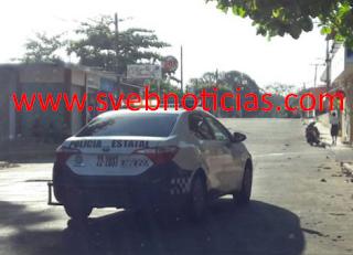 Persecucion de taxi arma balacera en Acayucan Veracruz