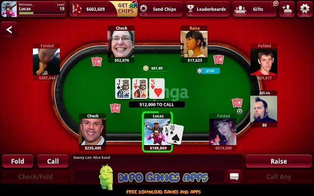 Free Download Zynga Poker Texas Holdem Apk + Data