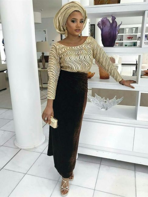 Temi Otedola Looks Pretty In Traditional Outfit