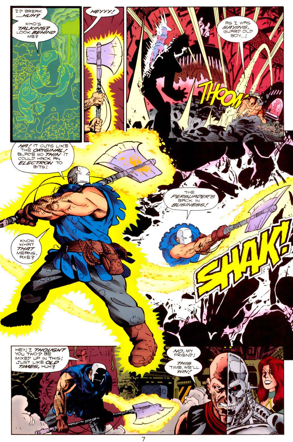 Legion of Super-Heroes (1989) 120 Page 7
