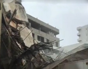 Five-storied building in Wellawatta ... collapses! -- 21 in hospital