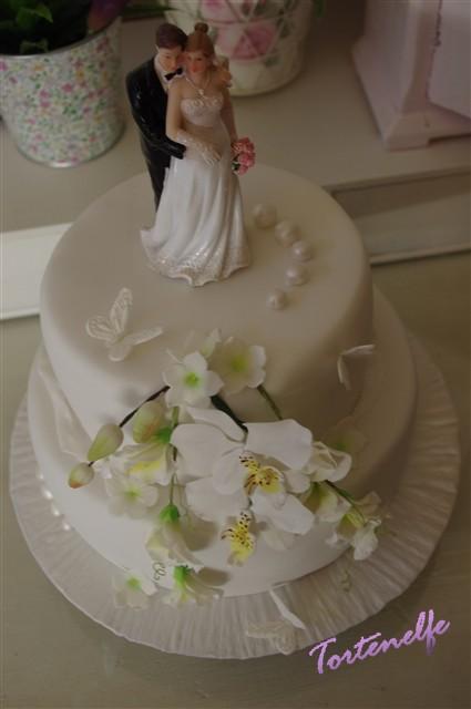 Tortenelfes Blog Backe Backe Kuchen Nochmal Orchideen Und