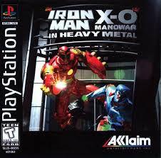 Iron Man / X-O Manowar in Heavy Metal - PS1 - ISOs Download