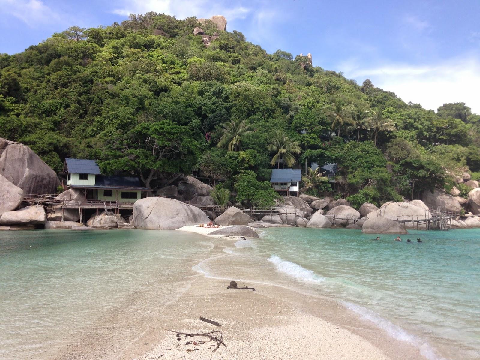 Praia Nang Yuan, Samui