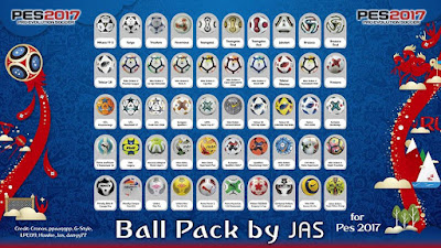 PES 2017 Ballpack by JAS