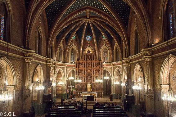 Interior Iglesia San Pedro. Visitando Teruel