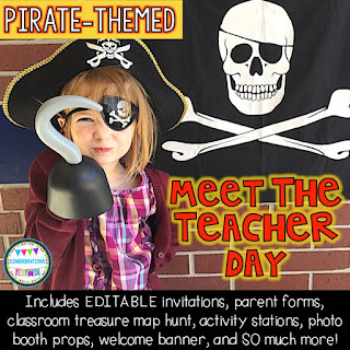 Pirate Meet the Teacher Day