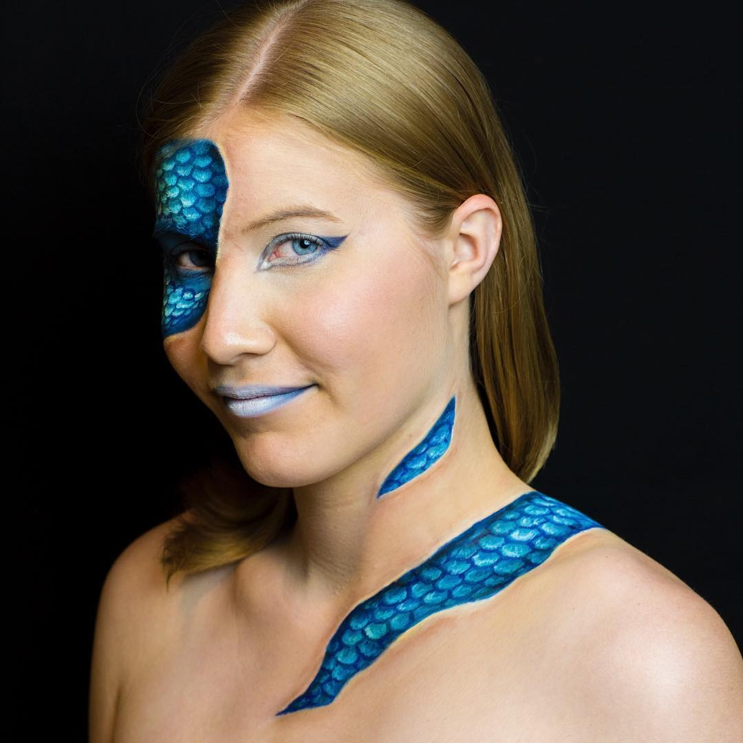 09-Mermaid-Kim-Witte-Face-and-Body-Painting-Makeup-Transformations-www-designstack-co