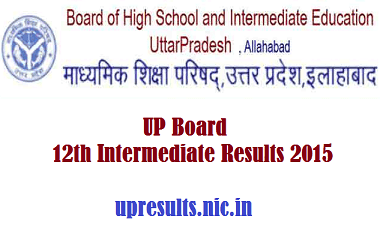 UP Board 12th (Intermediate) Result 2016 upresults.nic.in