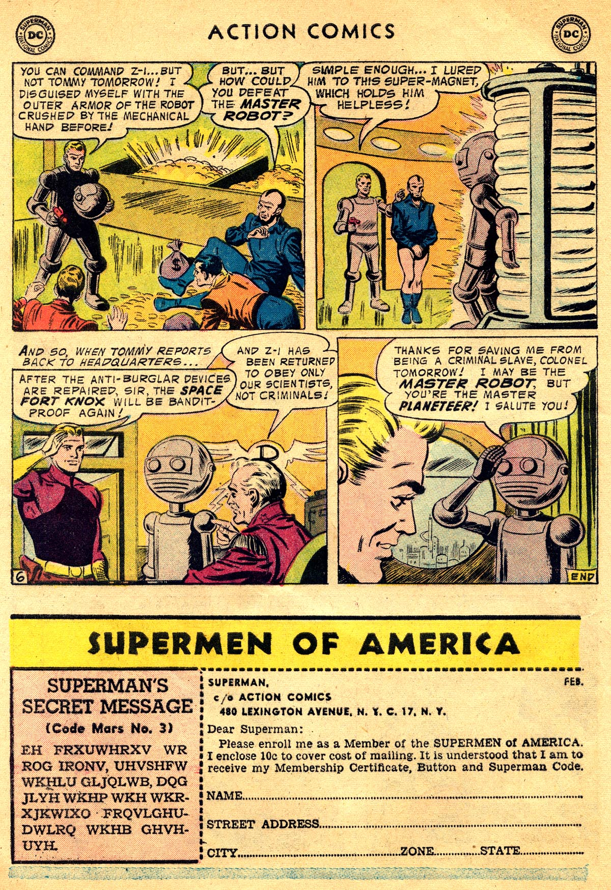 Read online Action Comics (1938) comic -  Issue #225 - 32