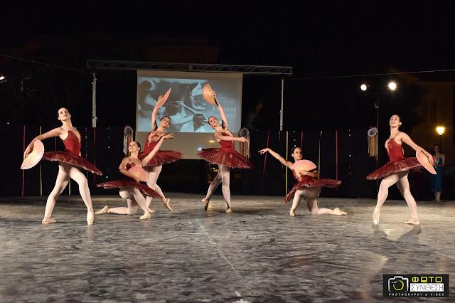 Εντυπωσίασαν οι μαθήτριες της Σχολής Χορού Ηλιάνα Διολίτση