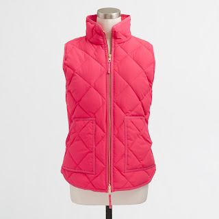 J. Crew Factory Quilted Puffer Vest $25 (reg $98) - I got mine! :)