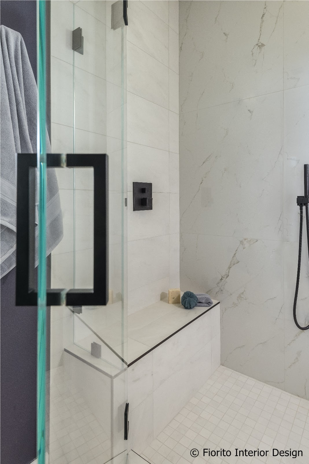 fiorito interior design and all that from an average builder s bathroom