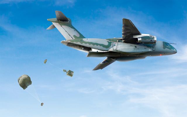 Embraer KC-390 (avión de transporte de tamaño mediano ) - Página 3 Embraer_KC-390_2017_01