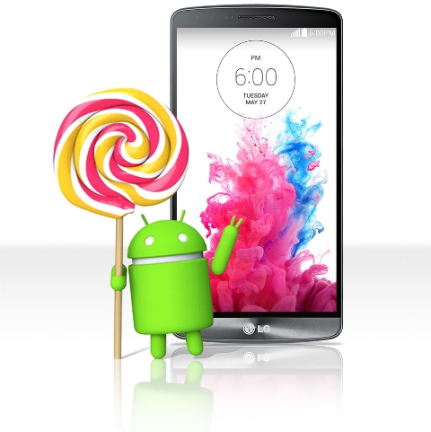 LG G3 Android 5.0 Lollipop Upgrade