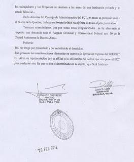 El telef nico fondo compensador telef nico escrito al for Juzgado san isidro