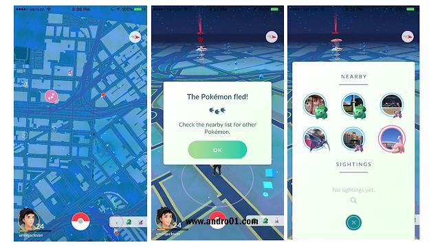 Fitur terbaru Pokemon Go bocor