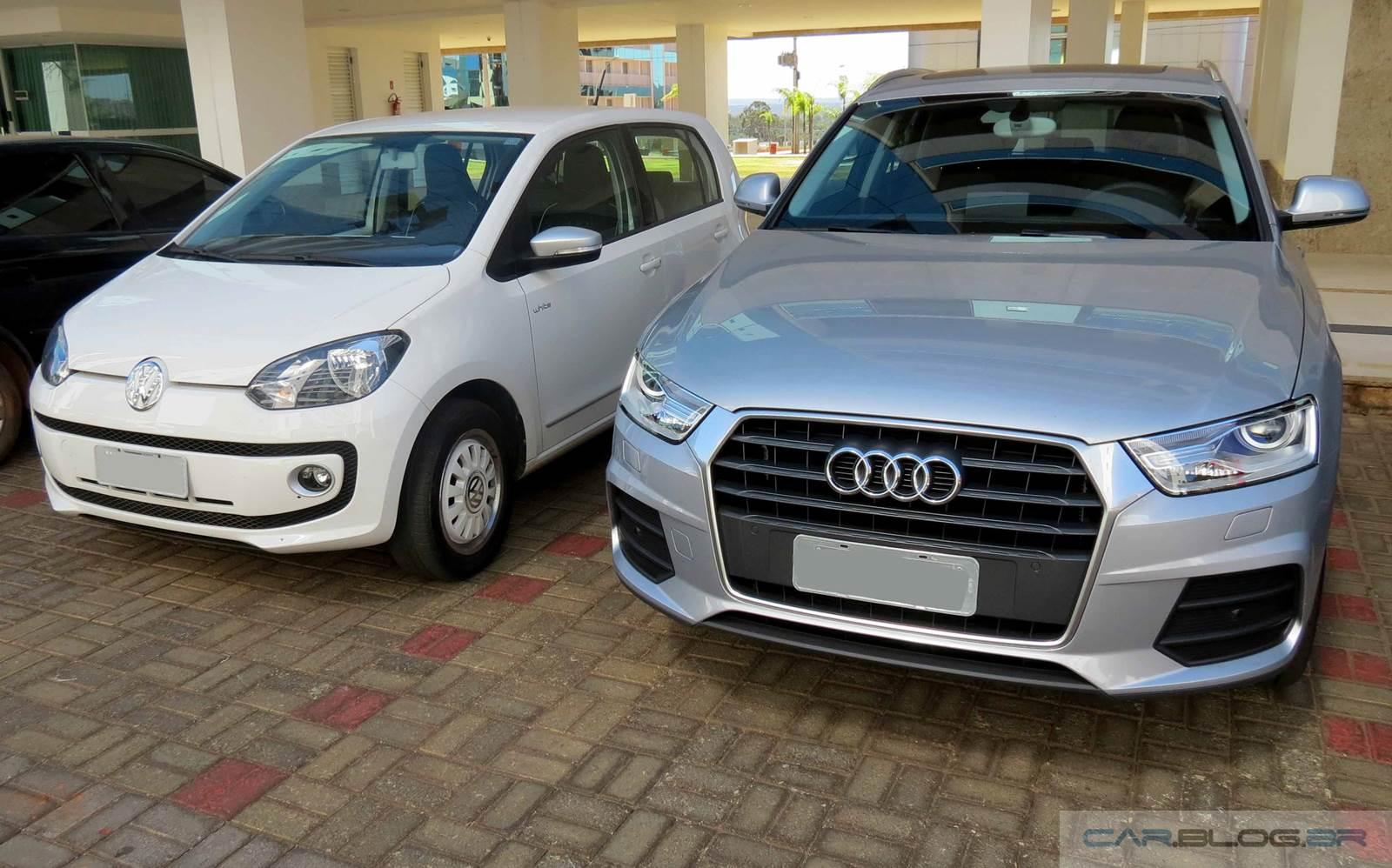 Audi e Volkswagen - financiamento taxa zero