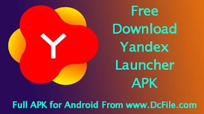 Yandex Launcher APK Free Download 2.3.1