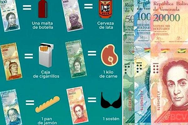 Que se compra con los nuevos billetes