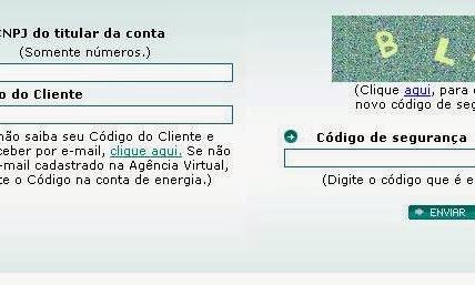 Consulta a 2 via Light Rio de Janeiro e imprimir