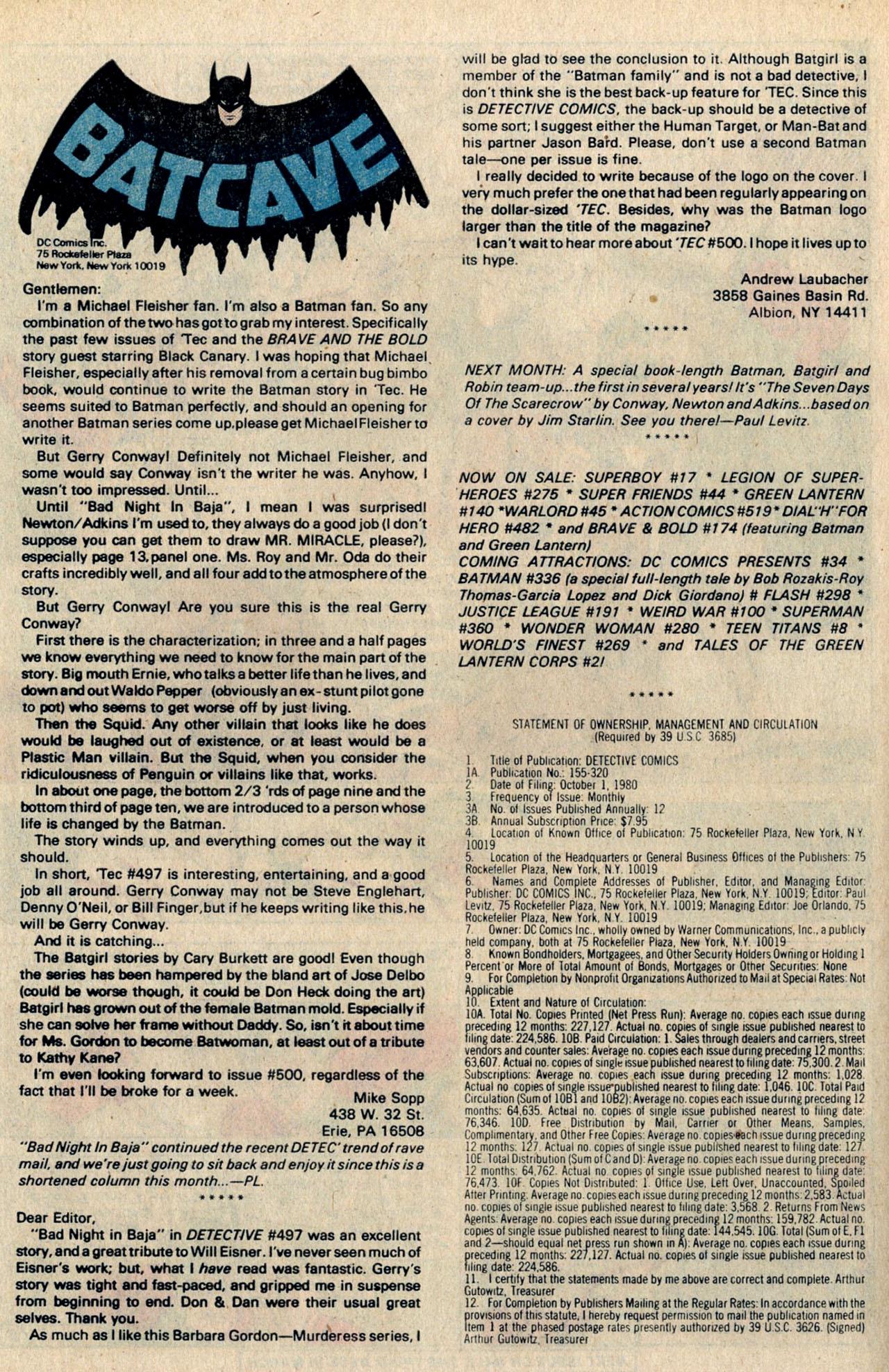 Detective Comics (1937) 502 Page 33