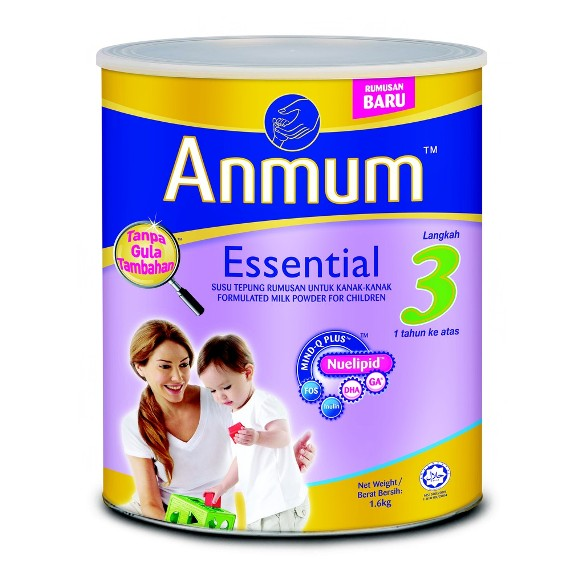 Anmum Essential Step 3 Plain 1.6kg