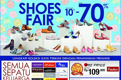 Promo Matahari Edisi Dobel Diskon Hemat Shoes Fair