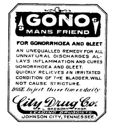 Gono - Man's Friend for gonorrhea and gleet