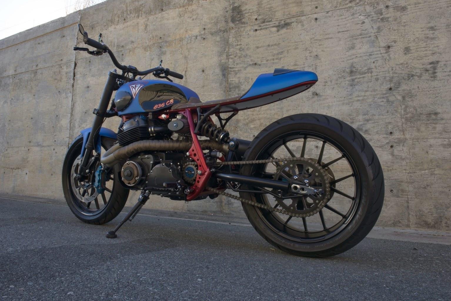 AFT Customs CB836 Honda Streetfighter   Motorcycle