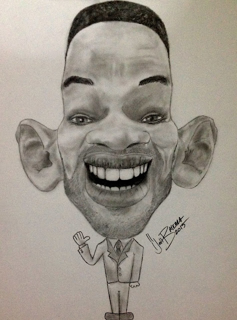 Will Smith Cartoon by Ümit Baykara