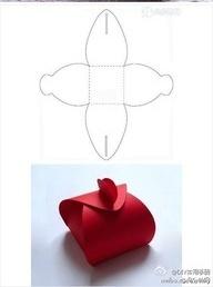 Шаблоны для фигурных коробочек