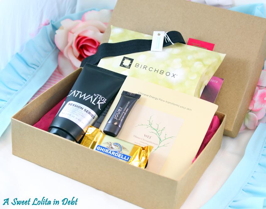 Birchbox makeup