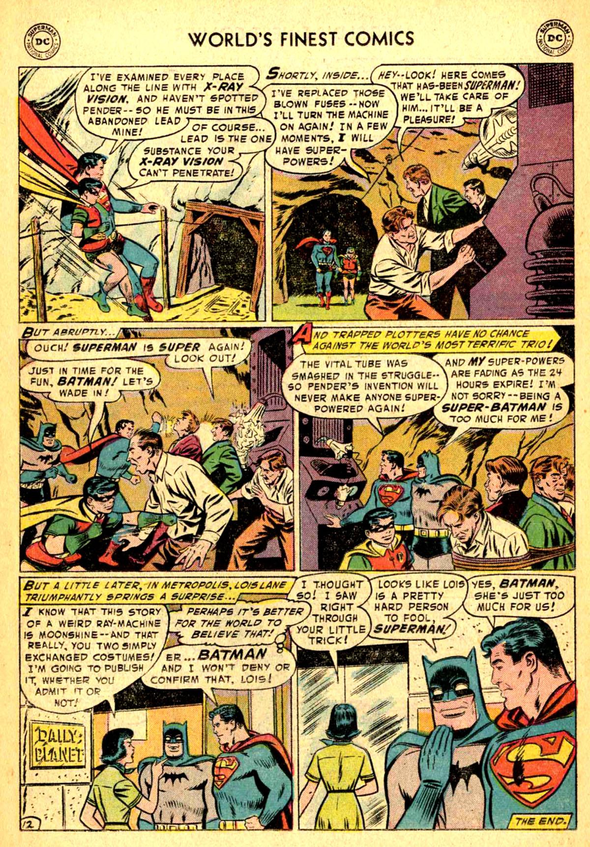 Read online World's Finest Comics comic -  Issue #77 - 14