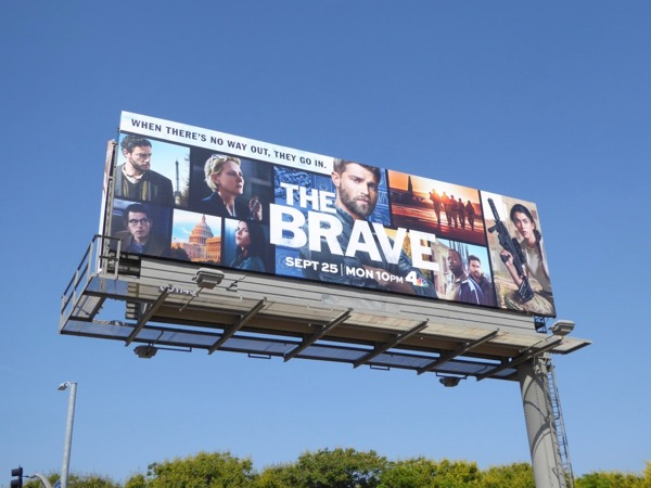 The Brave season 1 billboard
