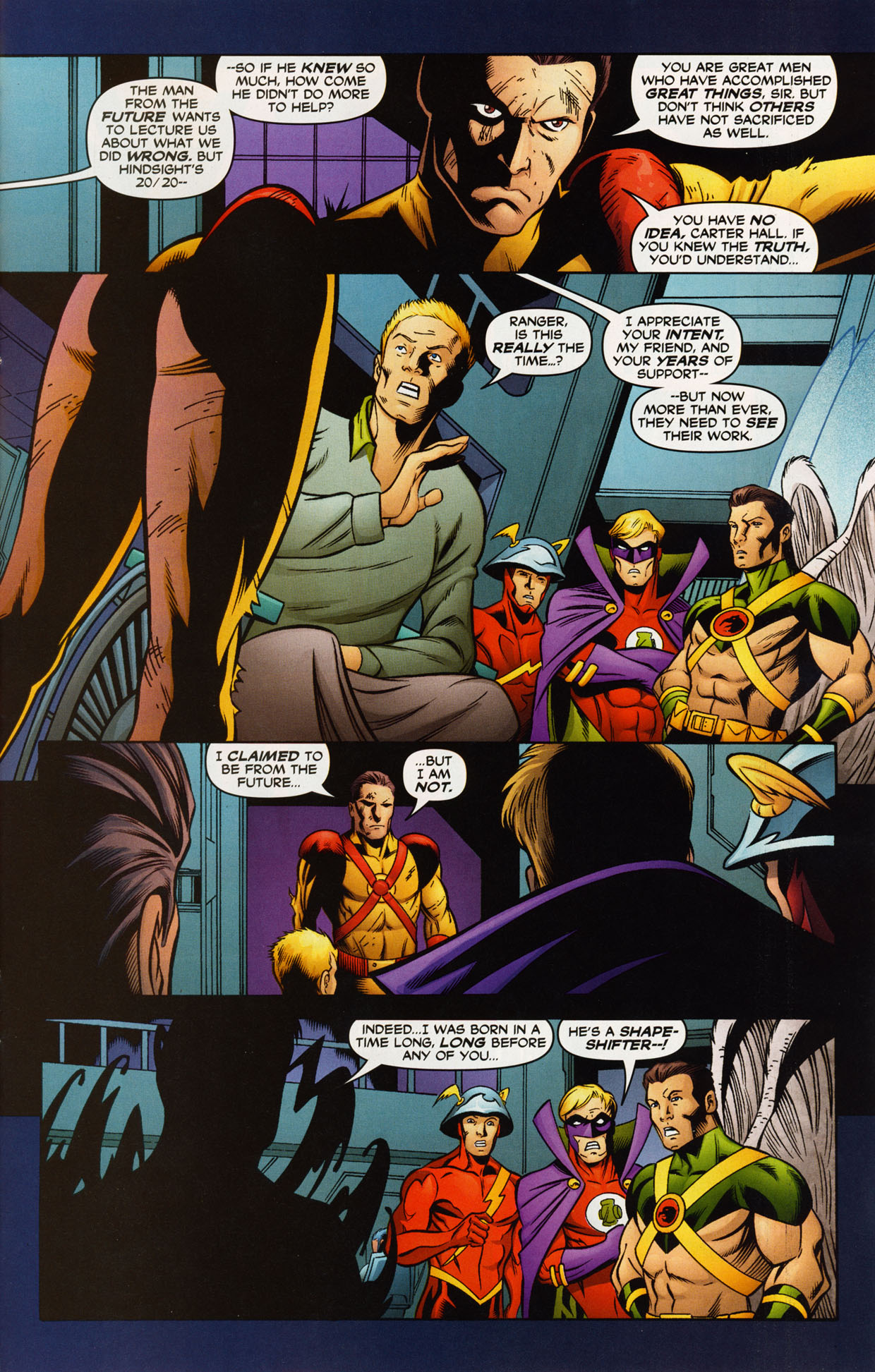Read online Trinity (2008) comic -  Issue #38 - 25