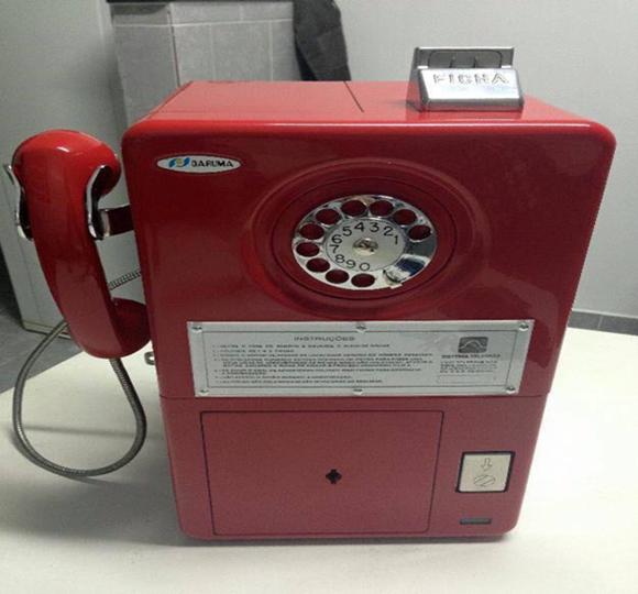 Telefone de ficha