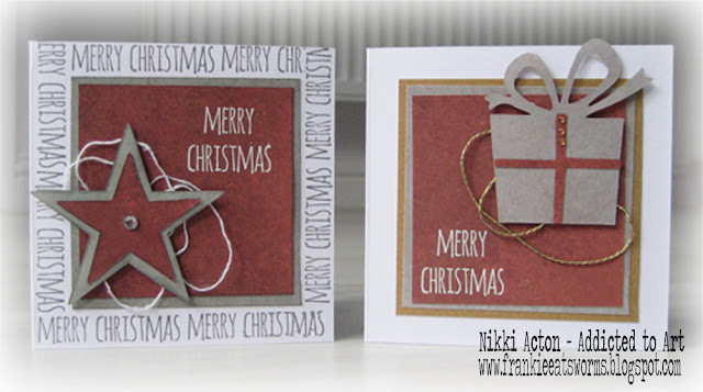 Nikki Acton Simple Christmas Cards