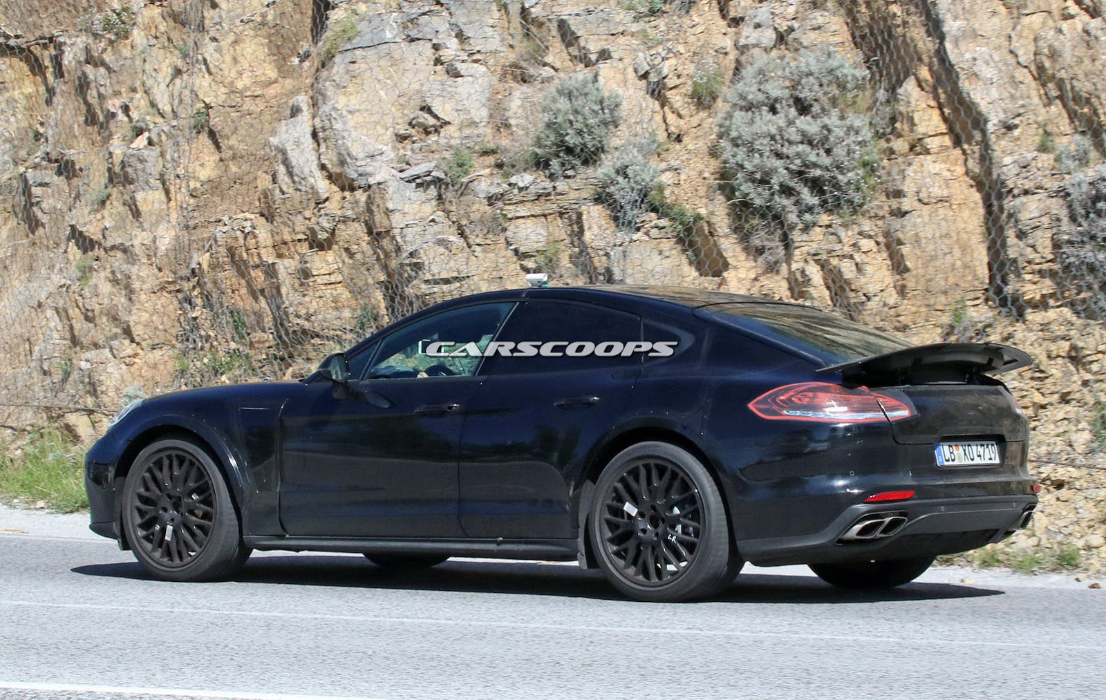 Bmw Two Door >> Is This Shortened Porsche Panamera A 928 Coupe Test Mule